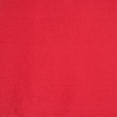 Tomato Red Faux Suede Upholstery Fabric - Salerno 1619