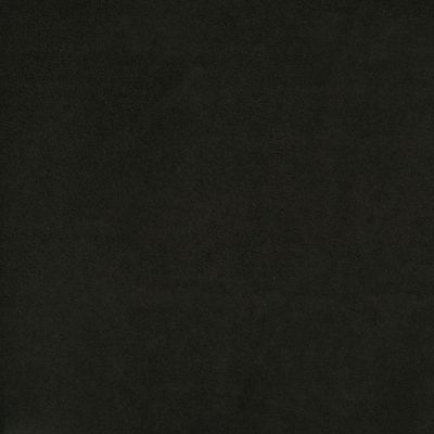 Black Faux Suede Upholstery Fabric - Salerno 1626