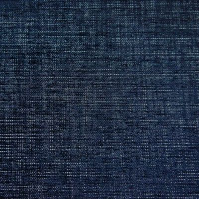 Midnight Blue Chenille Upholstery Fabric - Speranza 1894