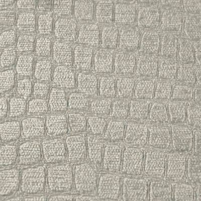 Silver Taupe Velvet Upholstery Fabric - Toscana 1718