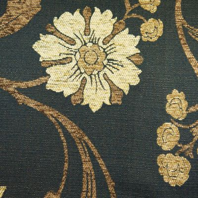 Old Gold, Coffee  Chenille Upholstery Fabric - Verdi 1733