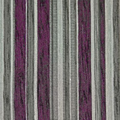Aubergine, Charcoal  Chenille Upholstery Fabric - Vicenza 1862