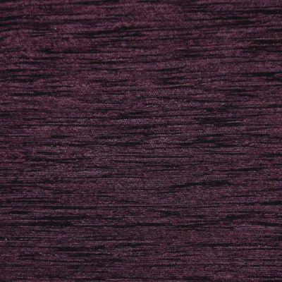 Aubergine Chenille Upholstery Fabric - Vicenza 1871
