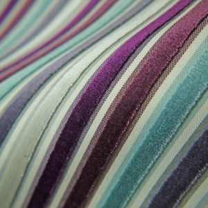 Plum Copper Gold Russet Velvet Upholstery Fabric Pisa