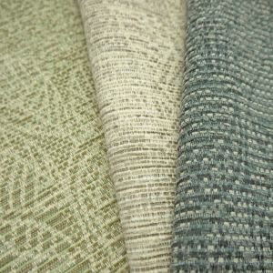 Lucia Patchwork Chenille Upholstery Fabric