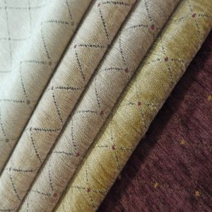 Palazzo Trellis Chenille Upholstery Fabric