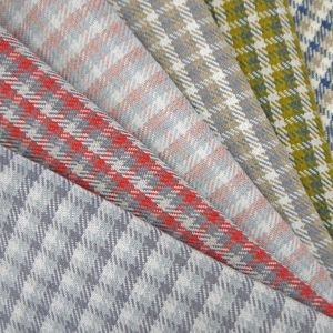 Pizzicato Check Chenille Upholstery Fabric