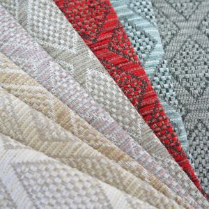 Fortuna Diamond Chenille Upholstery Fabric
