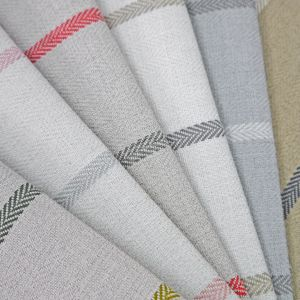 Pizzicato Stripe Chenille Upholstery Fabric