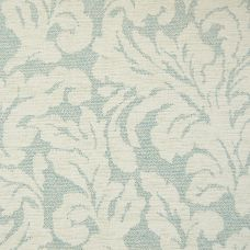 Pale Wedgwood Chenille Upholstery Fabric - Arturo 3847