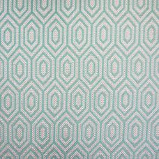 Duck Eggshell Flat Weave Upholstery Fabric - Galileo 3021