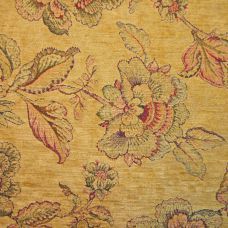 Venetian Gold Chenille Upholstery Fabric - Palazzo 2749