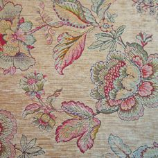 Porcini Chenille Upholstery Fabric - Palazzo 2751