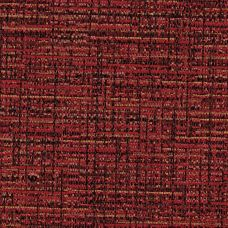 Firecracker Red Chenille Upholstery Fabric - Luciano 3552