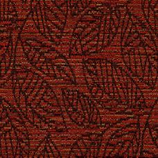 Firecracker Red Chenille Upholstery Fabric - Lucia 3559
