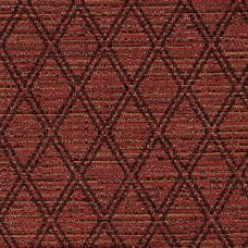 Firecracker Red Chenille Upholstery Fabric - Lucia 3569