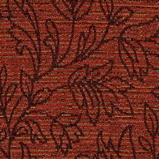 Firecracker Red Chenille Upholstery Fabric - Lucia 3589