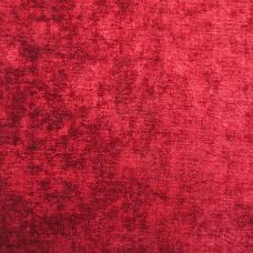 Risque Red Chenille Upholstery Fabric - Opera 3132