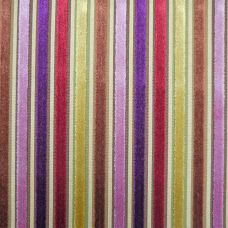 Plum, Copper, Gold, Russet  Velvet Upholstery Fabric - Pisa 1414