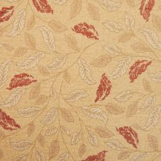 Saffron & Gold Chenille Upholstery Fabric - Sardinia 2565