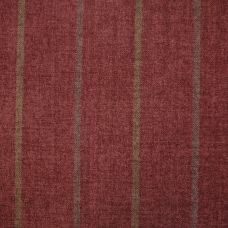 Brodie Red Chenille Upholstery Fabric - Tartufo 2453