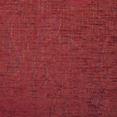 Claret Chenille Upholstery Fabric - Treviso 2530