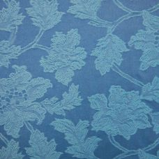 Cerulean Blue Cotton Upholstery Fabric - Tramonta 2591