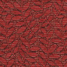 Crimson Flame Chenille Upholstery Fabric - Fortuna 3475