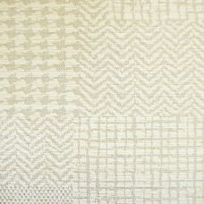 Not Quite White Chenille Upholstery Fabric - Fortuna 3485