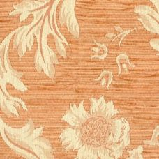 Peach Chenille Upholstery Fabric - Brindisi 1011