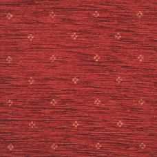 Ruby Red Chenille Upholstery Fabric - Maranello 1576