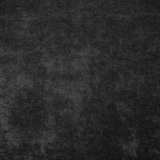 Black Velvet Upholstery Fabric - Messina 2061