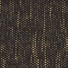 Black Chenille Upholstery Fabric - Milan 1324