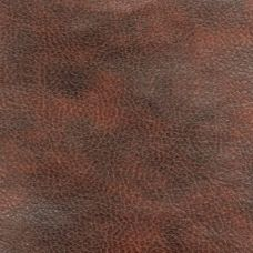 Chestnut Faux Leather Upholstery Fabric - Monza 1285