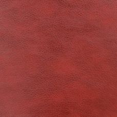 Red Faux Leather Upholstery Fabric - Monza 1289