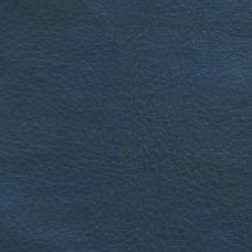 Blue Faux Leather Upholstery Fabric Modelli Fabrics
