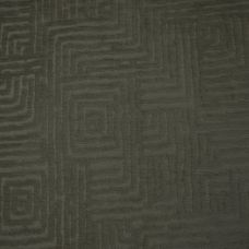 Anthracite Velvet Upholstery Fabric - Palermo 1919