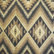Old Gold, Coffee  Chenille Upholstery Fabric - Rigoletto 2157